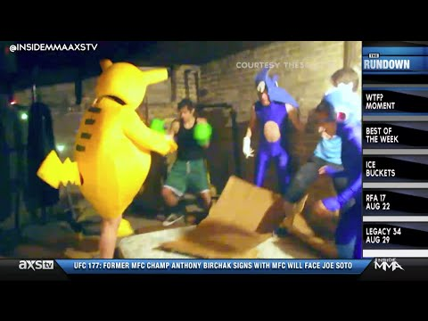 Real Life Super Smash Brothers on Inside MMAs WTF Moment of the Week