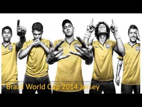 Brazil 2014 World Cup National Team Jersey