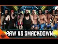 WWE 2K18 RAW VS SMACKDOWN [ TRADITIONAL SURVIVOR SERIES ELIMINATION MATCH ]