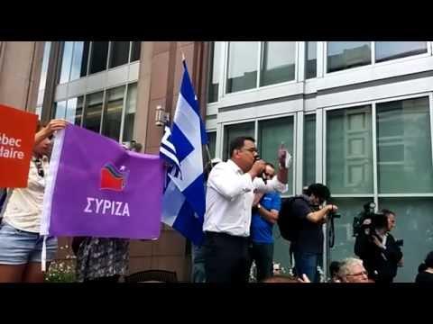 Le 4 juillet - Face au chantage de la finance, solidarité avec le peuple grec!