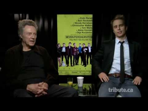 Christopher Walken & Sam Rockwell - Seven Psychopaths Interview with Tribute at TIFF 2012