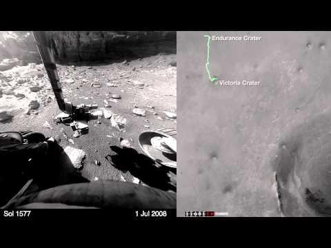 NASA, Mars gezgini 11 yılını 8 dakikalık videoda anlattı