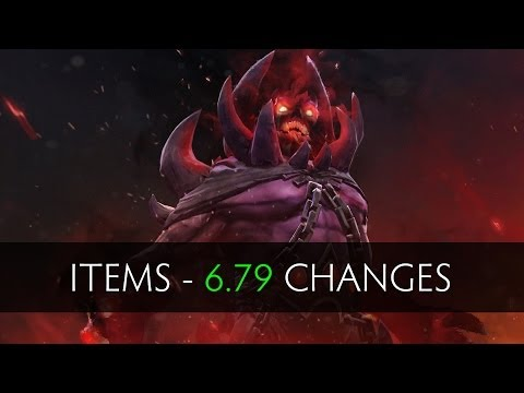 Dota 2 Items - Patch 6.79 Changes