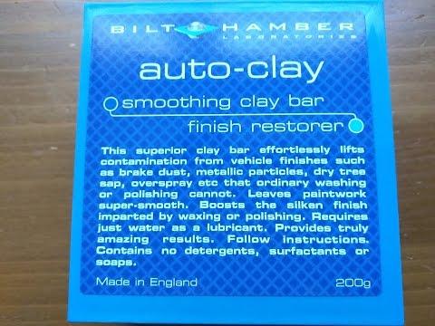 Bilt Hamber Auto Clay / Clay Bar Review