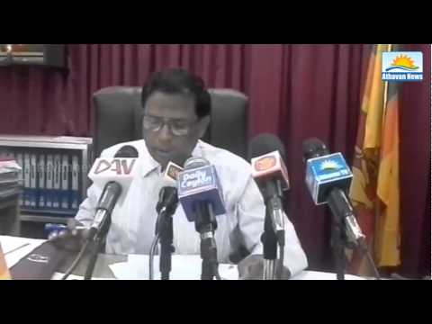Jaffna GA Vethanayagan meets journalists