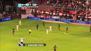 Gol de Penco. Independiente 1 - Lanús 1. Fecha 16. Torneo Primera División 2014. FPT