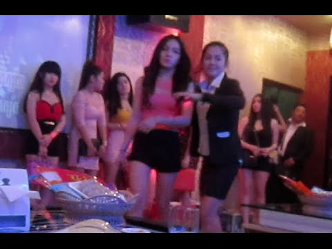 KTV night with our friends at ECHO KTV and beautiful girls | Nightlife in Phnom Penh city