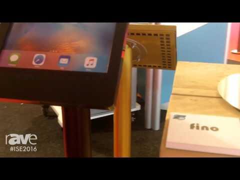 ISE 2016: Ergo-av.com Details Fino Tablet Stand