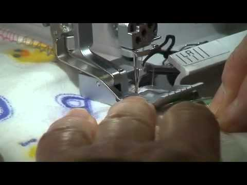 blanket stitch with your serger youtube. Black Bedroom Furniture Sets. Home Design Ideas