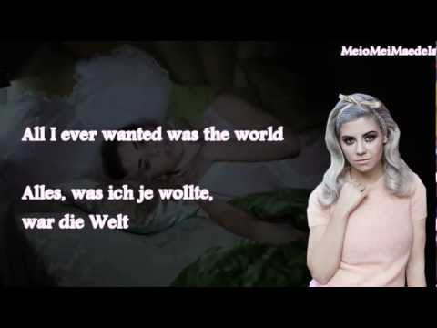 Marina & the Diamonds-Primadonna Girl (Lyrics+deutsche Übersetzung)