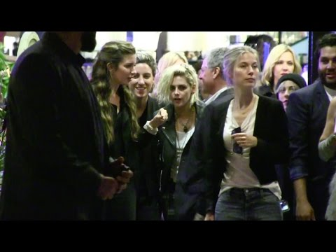 EXCLUSIVE - Kristen Stewart and her girlfriend Alicia Cargile attend the Paul Allen Party in Cannes
