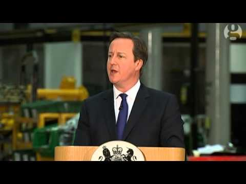 David Cameron: 'immigration benefits Britain' - video