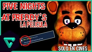 NOTICIA: ¡INFORMACIÓN SOBRE LA PELÍCULA DE FIVE NIGHTS AT FREDDY