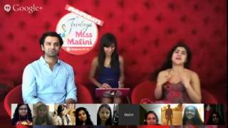 BesharamGang Question asked to Barun Sobti and Shenaz Treasurywala on #MMFridays