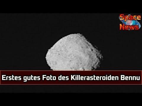 Erstes hochauflösendes Foto des Killerasteroiden Bennu [Space News]