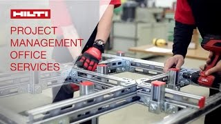 Hilti Project Management Office: Providing Customized Solutions.