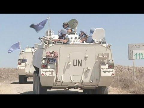UN demands release of peacekeepers held hostage in Golan Heights
