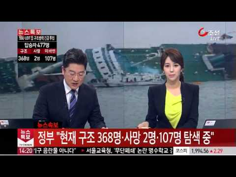 South Korean ferry sinking leaves 6 dead, almost 300 missing