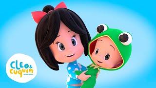 CUCÚ CANTABA LA RANA y más Canciones. Cleo&Cuquín I Familia Telerín.Canciones Infantiles(30 minutos)