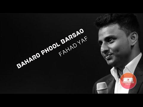 Baharo Phool Barsao Cover By Mohd Fahad video