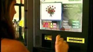 Cool New Flower Vending Machine