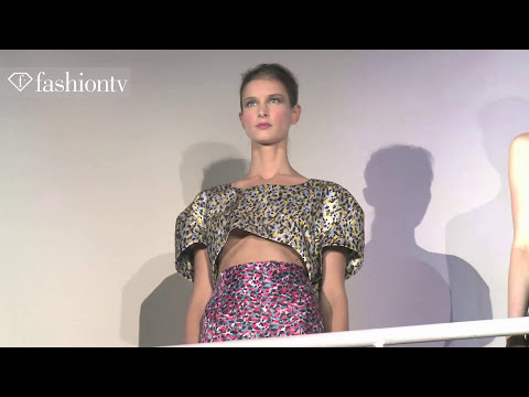 Amaya Arzuaga Spring/Summer 2014 | Paris Fashion Week PFW | FashionTV