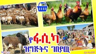 የፋሲካ ዝግጅትና ገበያዉ - Ethiopian Easter and Market - DW