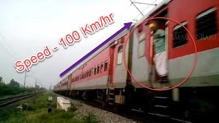 Indian Railways : 12270/Hazrat Nizamuddin - Chennai Central Duronto Express Blasts At 100 Km/hr