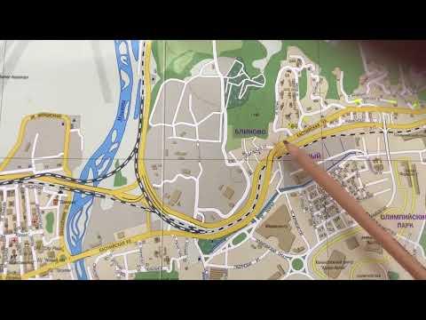 Какие Микрорайоны Адлера более развитые для ПМЖ⁉️☝🏻Разберёмся на карте города‼️