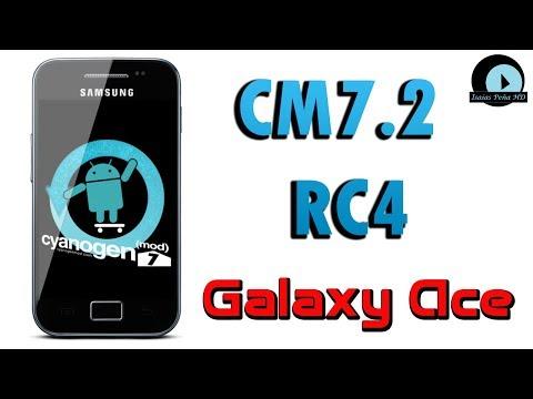 ROM CM7.2 RC4 para Galaxy Ace GT-S5830M/I/C