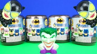 Batman Mashems Opening Double Trouble Catwoman vs Joker & Penguin Toy Review TV
