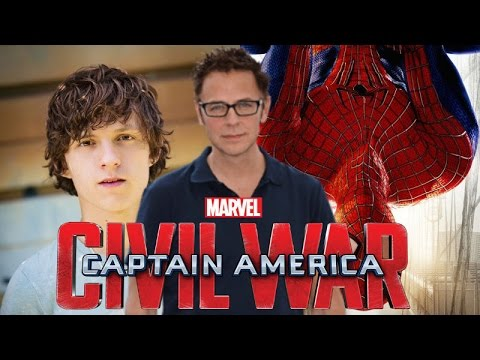 James Gunn Praises Captain America Civil War and Tom Holland as Spider-Man