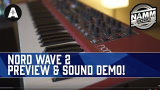 First Look At The New Nord Wave 2 Performance Synthesizer! - NAMM 2020