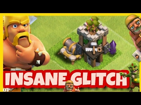 [2017]INSANE GLITCH OR BUGS IN | CLASH OF CLANS | BUILDER GLITCH | OVERLAPPING OF BUILDINGS