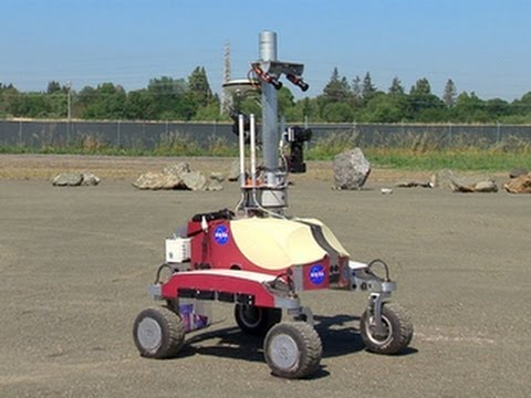 CNET News - NASA tests next-gen rovers to explore the moon and Mars