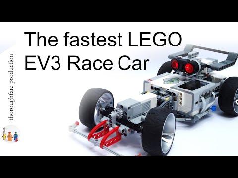 LEGO Mindstorms EV3 Formula 1 Race Car
