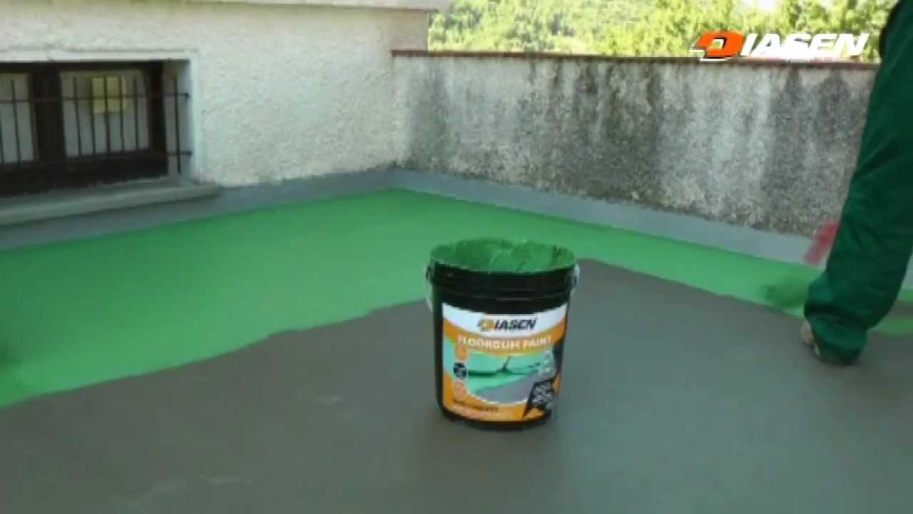 Sistema impermeabilizzante liquido pedonabile by diasen for Guaina liquida mapei