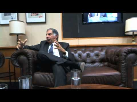 Ratan Tata (Tata Group) interview at Room for Discussion (University of Amsterdam)