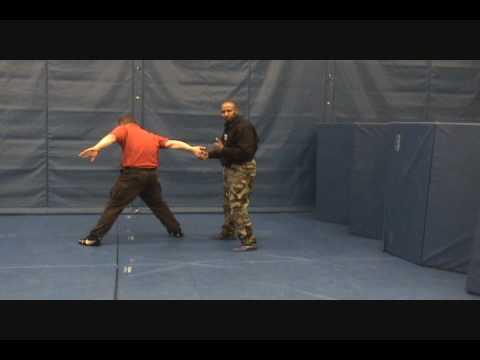 Handcuff Training-Palm Forward Method
