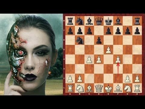 Chess Engines : Rybka vs Houdini 2011 match, Game 7 - Alekhine's Defence - Four pawns attack (B03)