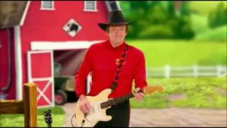 The wiggles making farm animals with guitar and piano