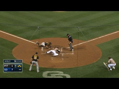 Marte throws out Norris at home for DP