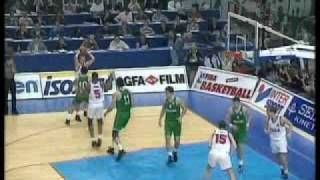 European League 1995-96 Semifinal Panathinaikos Athens - CSKA Moscow Part 1