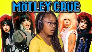 KIDS REACT TO MÖTLEY CRÜE (1980s Metal Band)