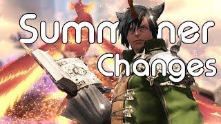 Summoner Changes | FFXIV Shadowbringers Media Tour