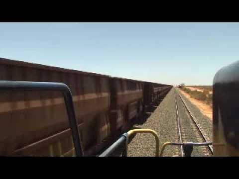 BHP Iron Ore Train 300 + Wagon X