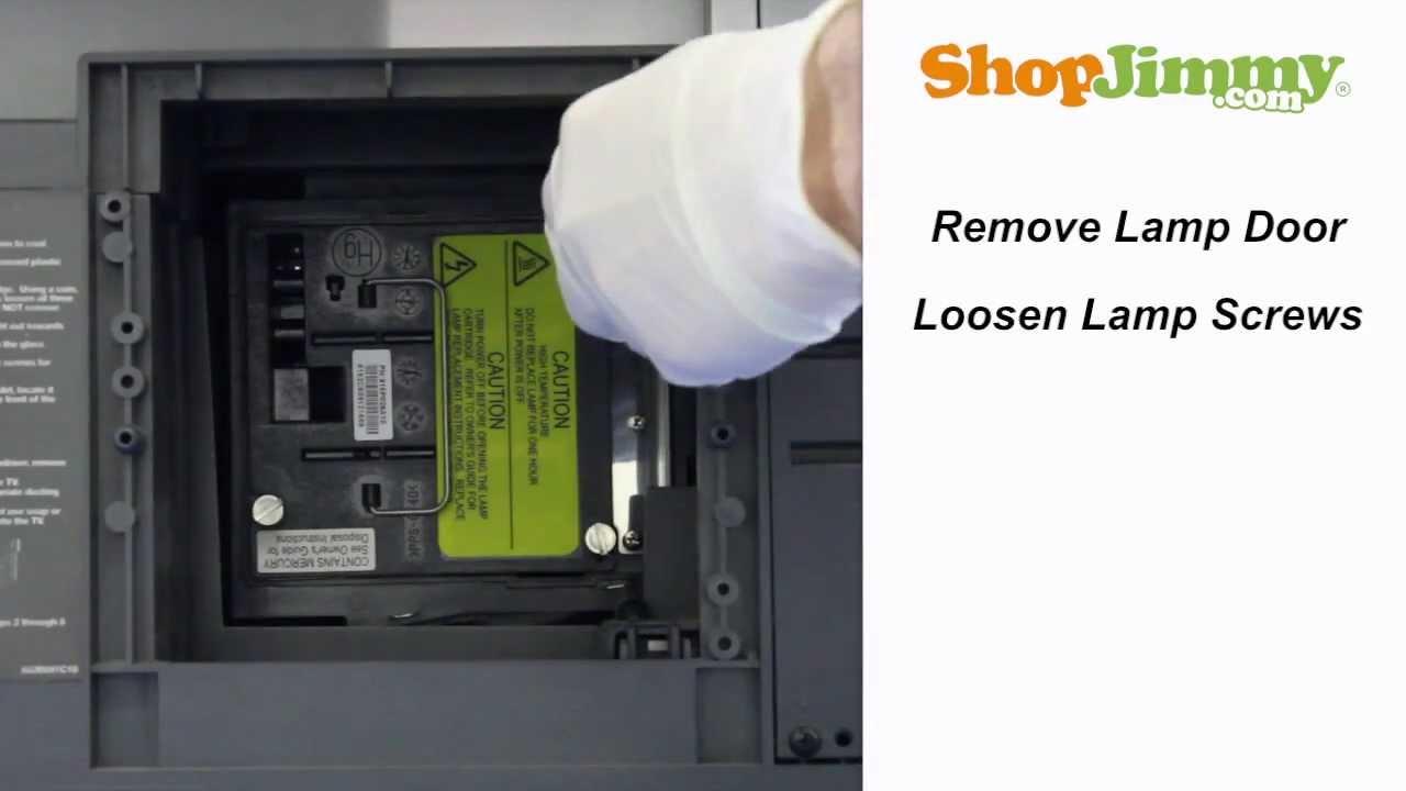 Mitsubishi Tv Repair 915p020010 Lamp Replacement Guide For