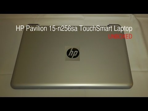 HP Pavilion 15-n232sa TouchSmart Laptop Unboxing