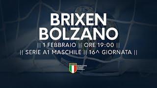 Serie A1M [16^]: Brixen - Bolzano 25-26