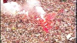 Universitario Campeon 2009 -  Play off  U vs Alianza 1 a 0 - 2do tiempo.wmv